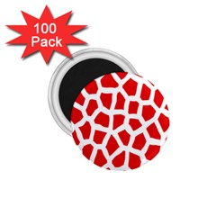 Animal Animalistic Pattern 1 75  Magnets (100 Pack)