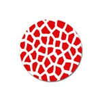 Animal Animalistic Pattern Magnet 3  (Round) Front