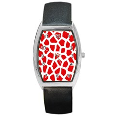 Animal Animalistic Pattern Barrel Style Metal Watch