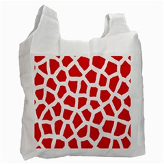 Animal Animalistic Pattern Recycle Bag (one Side)