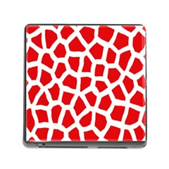 Animal Animalistic Pattern Memory Card Reader (square)