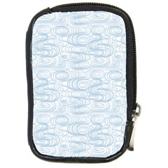 Wind Waves Grey Compact Camera Cases