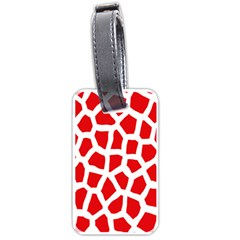 Animal Animalistic Pattern Luggage Tags (two Sides)