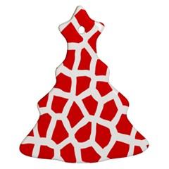 Animal Animalistic Pattern Ornament (Christmas Tree)