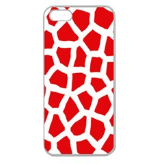 Animal Animalistic Pattern Apple Seamless Iphone 5 Case (clear)