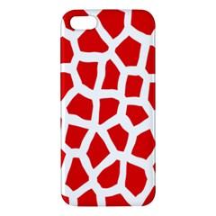 Animal Animalistic Pattern Apple Iphone 5 Premium Hardshell Case