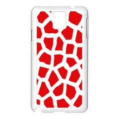Animal Animalistic Pattern Samsung Galaxy Note 3 N9005 Case (white)