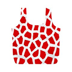 Animal Animalistic Pattern Full Print Recycle Bags (M)