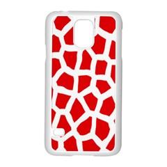 Animal Animalistic Pattern Samsung Galaxy S5 Case (White)
