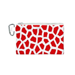 Animal Animalistic Pattern Canvas Cosmetic Bag (S)