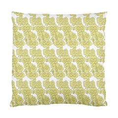 Waves Flower Standard Cushion Case (two Sides)