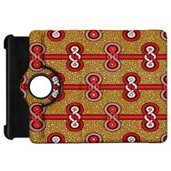 African Fabric Iron Chains Red Purple Pink Kindle Fire HD 7