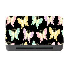 Butterfly Fly Gold Pink Blue Purple Black Memory Card Reader with CF