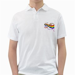 Color Music Notes Golf Shirts