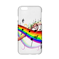 Color Music Notes Apple iPhone 6/6S Hardshell Case