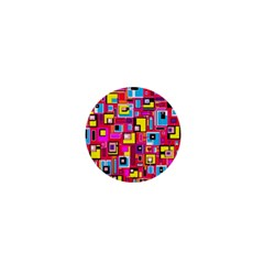 File Digital Disc Red Yellow Rainbow 1  Mini Buttons