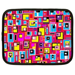File Digital Disc Red Yellow Rainbow Netbook Case (Large)