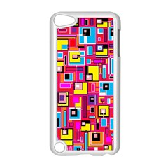 File Digital Disc Red Yellow Rainbow Apple Ipod Touch 5 Case (white)