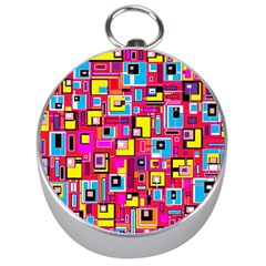 File Digital Disc Red Yellow Rainbow Silver Compasses