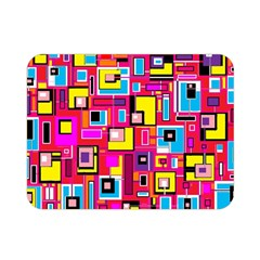 File Digital Disc Red Yellow Rainbow Double Sided Flano Blanket (Mini)