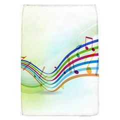 Color Musical Note Waves Flap Covers (l)