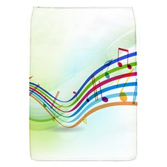 Color Musical Note Waves Flap Covers (S)