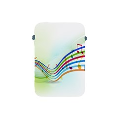 Color Musical Note Waves Apple Ipad Mini Protective Soft Cases