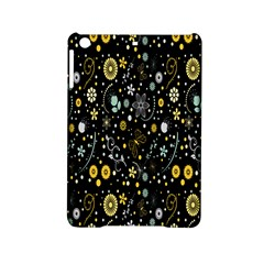 Floral And Butterfly Black Spring iPad Mini 2 Hardshell Cases