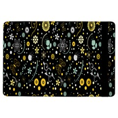 Floral And Butterfly Black Spring iPad Air 2 Flip
