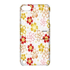 Flower Arrangements Season Rose Gold Apple Ipod Touch 5 Hardshell Case With Stand