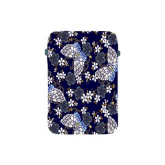 Butterfly Iron Chains Blue Purple Animals White Fly Floral Flower Apple iPad Mini Protective Soft Cases