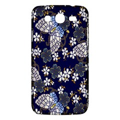 Butterfly Iron Chains Blue Purple Animals White Fly Floral Flower Samsung Galaxy Mega 5.8 I9152 Hardshell Case