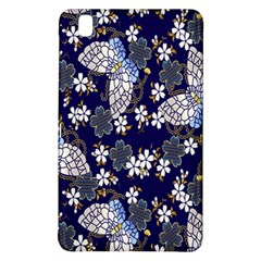 Butterfly Iron Chains Blue Purple Animals White Fly Floral Flower Samsung Galaxy Tab Pro 8 4 Hardshell Case