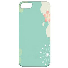 Flower Blue Pink Yellow Apple iPhone 5 Classic Hardshell Case