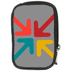Arrows Center Inside Middle Compact Camera Cases