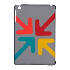 Arrows Center Inside Middle Apple Ipad Mini Hardshell Case (compatible With Smart Cover)