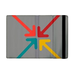 Arrows Center Inside Middle Ipad Mini 2 Flip Cases