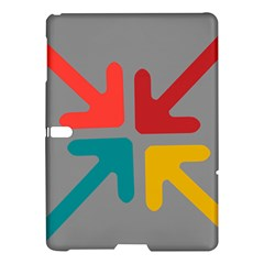 Arrows Center Inside Middle Samsung Galaxy Tab S (10 5 ) Hardshell Case