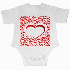 Love Red Hearth Infant Creepers