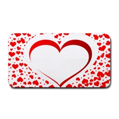Love Red Hearth Medium Bar Mats