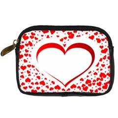 Love Red Hearth Digital Camera Cases