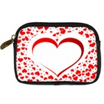 Love Red Hearth Digital Camera Cases Front