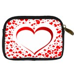 Love Red Hearth Digital Camera Cases Back