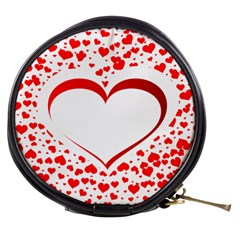 Love Red Hearth Mini Makeup Bags