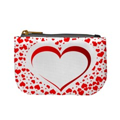 Love Red Hearth Mini Coin Purses