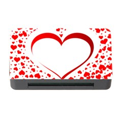 Love Red Hearth Memory Card Reader with CF