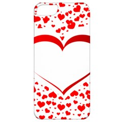 Love Red Hearth Apple Iphone 5 Classic Hardshell Case