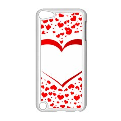 Love Red Hearth Apple Ipod Touch 5 Case (white)