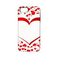 Love Red Hearth Apple iPhone 5 Classic Hardshell Case (PC+Silicone)