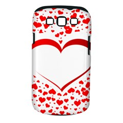 Love Red Hearth Samsung Galaxy S Iii Classic Hardshell Case (pc+silicone)